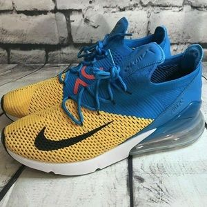 Nike Air Max 270 Flyknit Shoes Size 10 Running